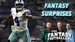 Fantasy Football 2016 - Biggest Surprise, Fantasy Questions, & News - Ep. #253