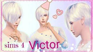 YURI ON ICE CC l VICTOR NIKIFOROV l SPEED SIM l (sims 4)