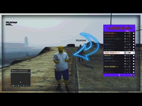 PS3/GTAV] Best Mod loader 51 menus FREE ANTHO HD V6 1 28+