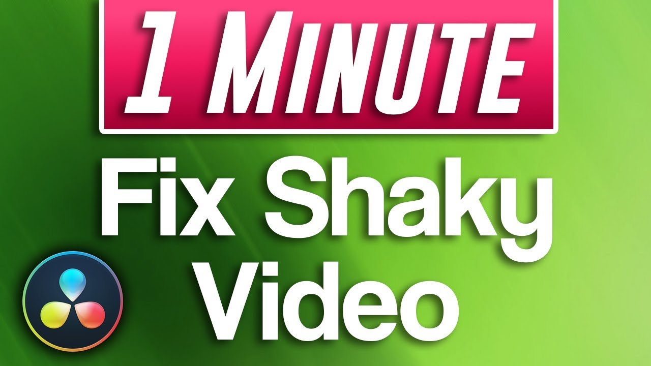 how to fix shaky footage