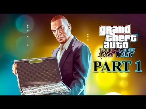 GTA 4 The Ballad of Gay Tony Gameplay Walkthrough Part 1 Intro and Mission I Luv LC (PC Gameplay)