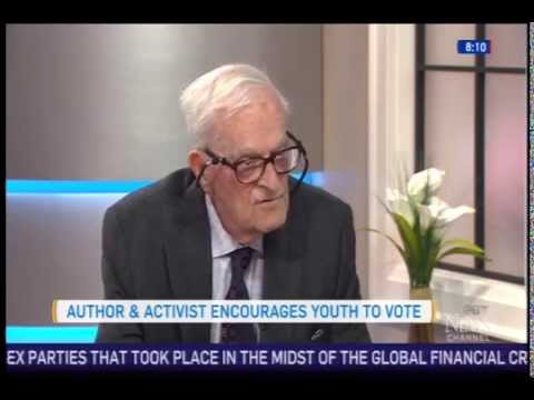 Harry Leslie Smith talks to CTV's Canada AM about our Stand Up For Progress Tour