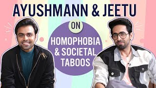 Ayushmann Khurrana & Jeetu on homophobia, gay party & social taboos | Shubh Mangal Zyada Saavdhan
