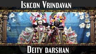 Iskcon Vrindavan Diety Darshan