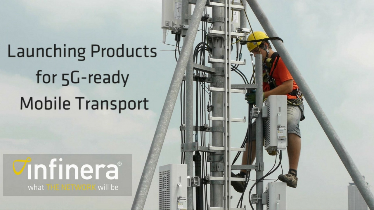 Infinera at MWC - Launching Products for 5G-Ready Mobile Transport ...