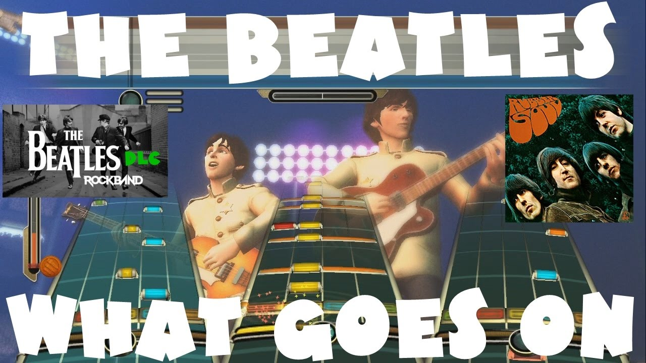 The Beatles - What Goes On - The Beatles Rock Band DLC Expert Full Band  (December 15th, 2009)