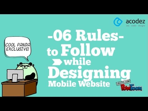 Web Design India Tips: 6 Rules To Follow While Designing a Mobile Website
