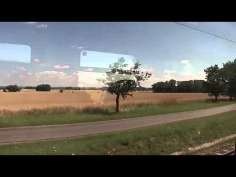 Praha to Warszawa by train (2011.07.12)