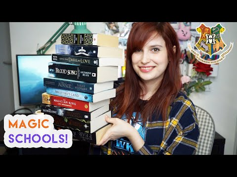 Fantasy Books With Magical School Settings
