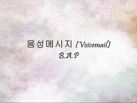 B.A.P - 음성메시지 (Voicemail) [Han & Eng]