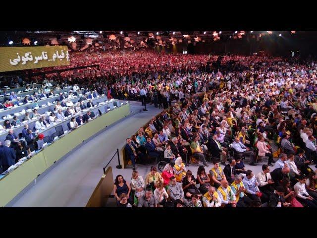 In a glance #FreeIran2018 #TheAlternative  Iranian Grand Gathering in Paris