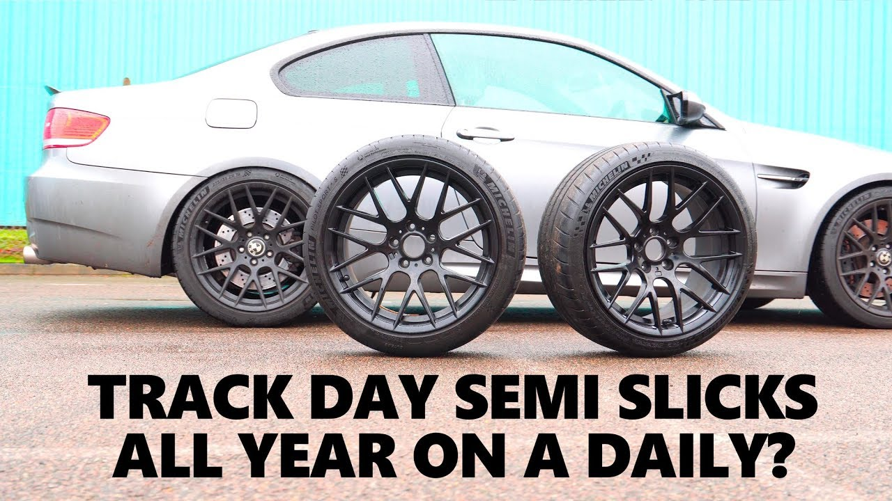 can you use track semi slicks tyres on a normal car. Black Bedroom Furniture Sets. Home Design Ideas