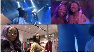 DAVIDO 02 CONCERT VLOG  BACKSTAGE  LAST MINUTE SHOPPING FOR OUTFITS amp MORE