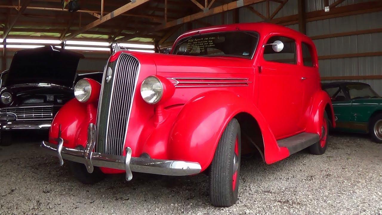 1936 plymouth 2 door sedan flathead six youtube. Black Bedroom Furniture Sets. Home Design Ideas