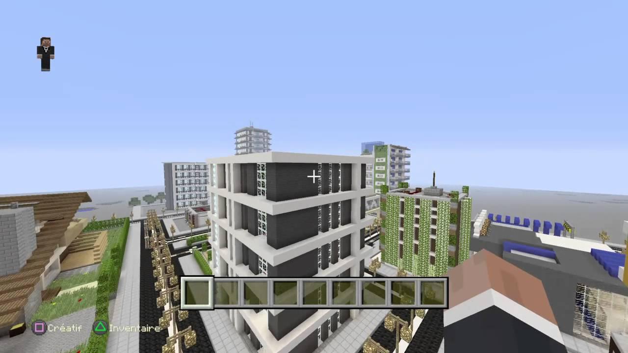Minecraft serveur ville moderne ps4 recrutement citoyen et architecte - Ville moderne minecraft ...