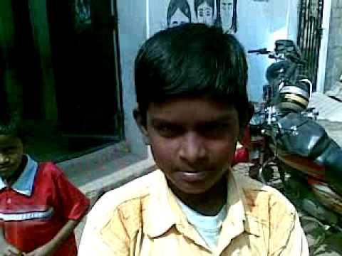 A kid in a govt school in Mehdipatnam slum area (Rethibowli) singing very nice
