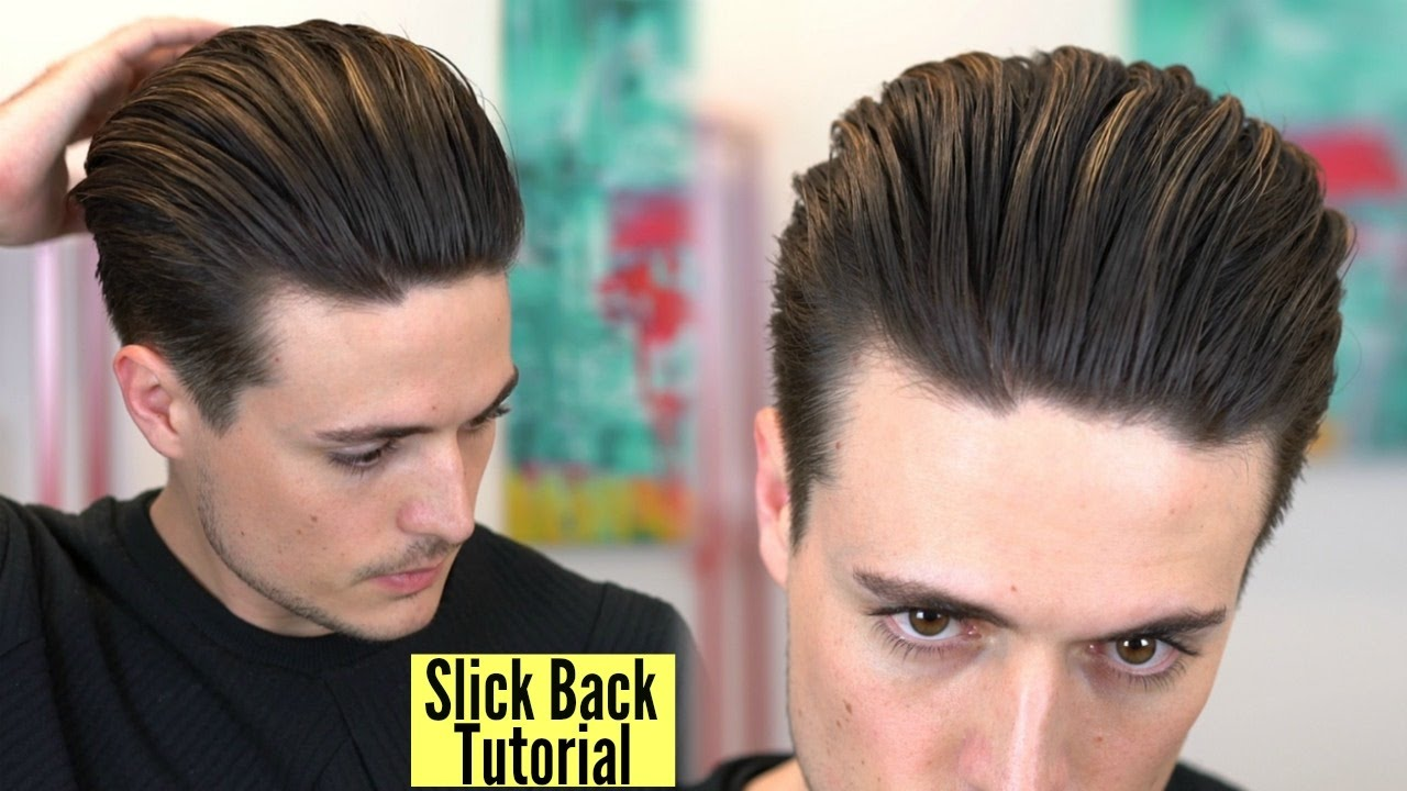 Disconnected Undercut Popular Slick Back Hairstyle Tutorial By