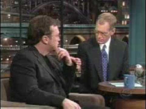 PhoenixDSL Tom Arnold on Letterman