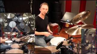 Samba Batacuda drum set lesson taught by Mark Walker. (Small Format Video.)