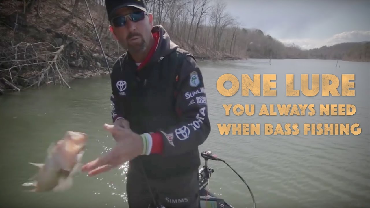 One lure you always need for bass fishing youtube for What do you need for fishing