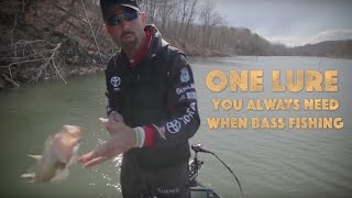 One Lure You Always Need for Bass Fishing