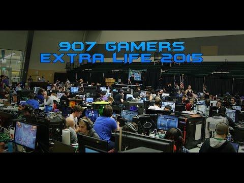 907 Gamers Extra Life Event 2015 | Alaskan Gamers Unite - www.907gamers.com