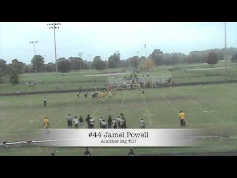 Jamel Powell 13 Year Old RB/MLB (Highlight 2013)