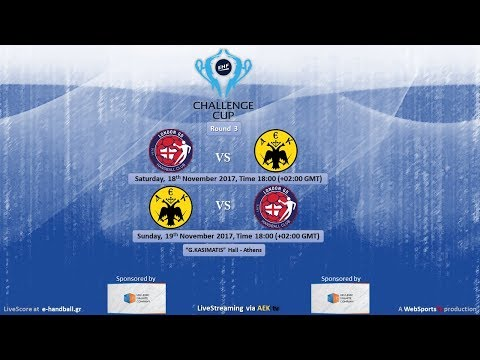 EHF Challenge Cup, ROUND 3: LONDON GD HC- A.E.K. Athens