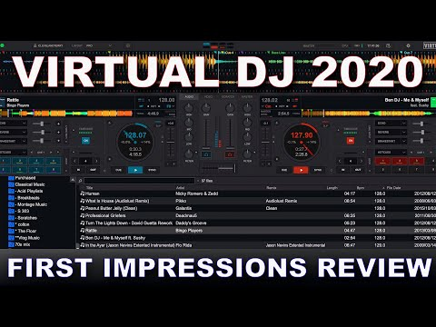 Virtual DJ 20 First Impressions Review - Is this the BEST software out now?