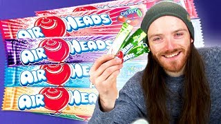 Irish People Taste Test Airheads Candy