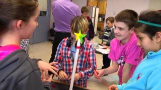 Maker Day @ Maple Bay Elementary - go! Shaw TV Victoria,   Pt.1