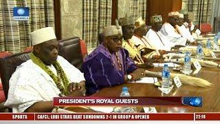 Gambar cover South-West Traditional Rulers Visits Buhari