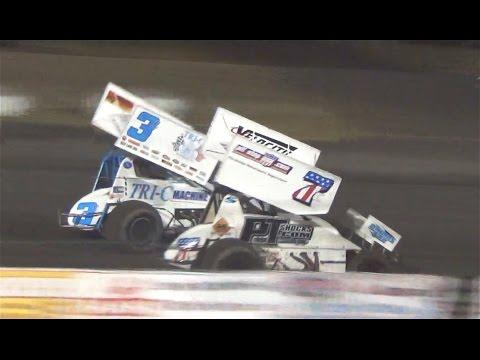 360 Sprints MAIN  7-3-16  Petaluma Speedway