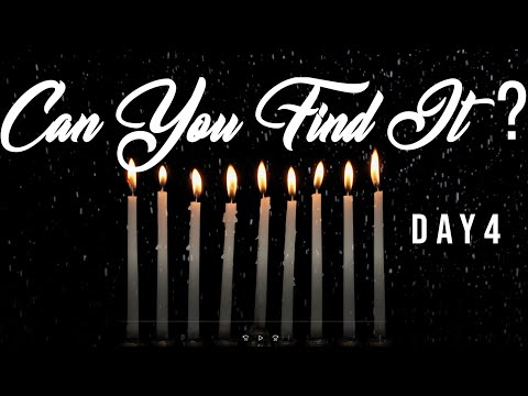 Can You Find It? - DAY 4 Hanukkah Game | Founded in Truth Fellowship