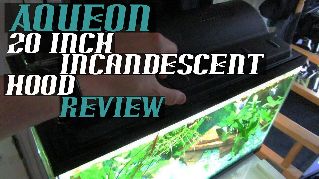 Aqueon Incandescent Aquarium Light Economy Hood 20 Inch Full Review