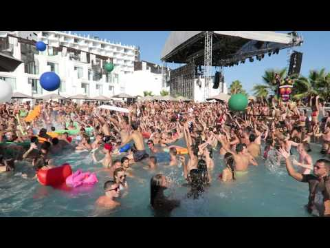 HARD ROCK HOTEL IBIZA - TINIE TEMPAH & LOVEJUICE POOL PARTY