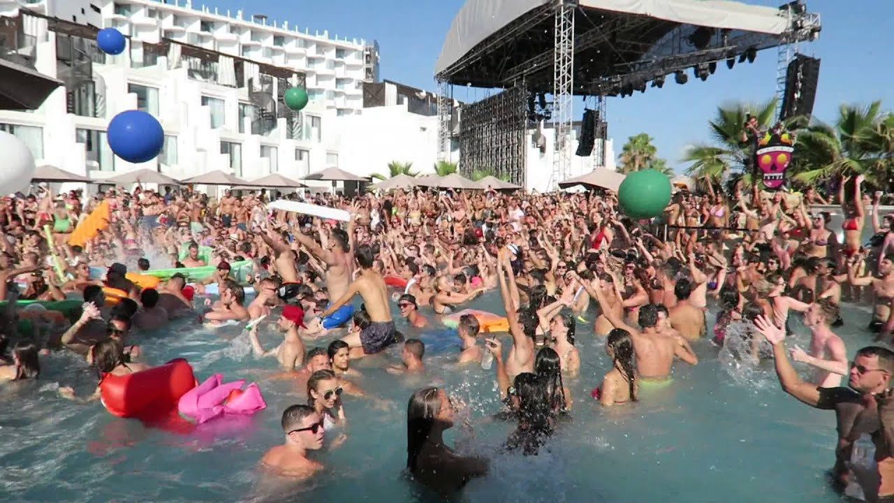 Hard Rock Hotel Ibiza Tinie Tempah Lovejuice Pool Party