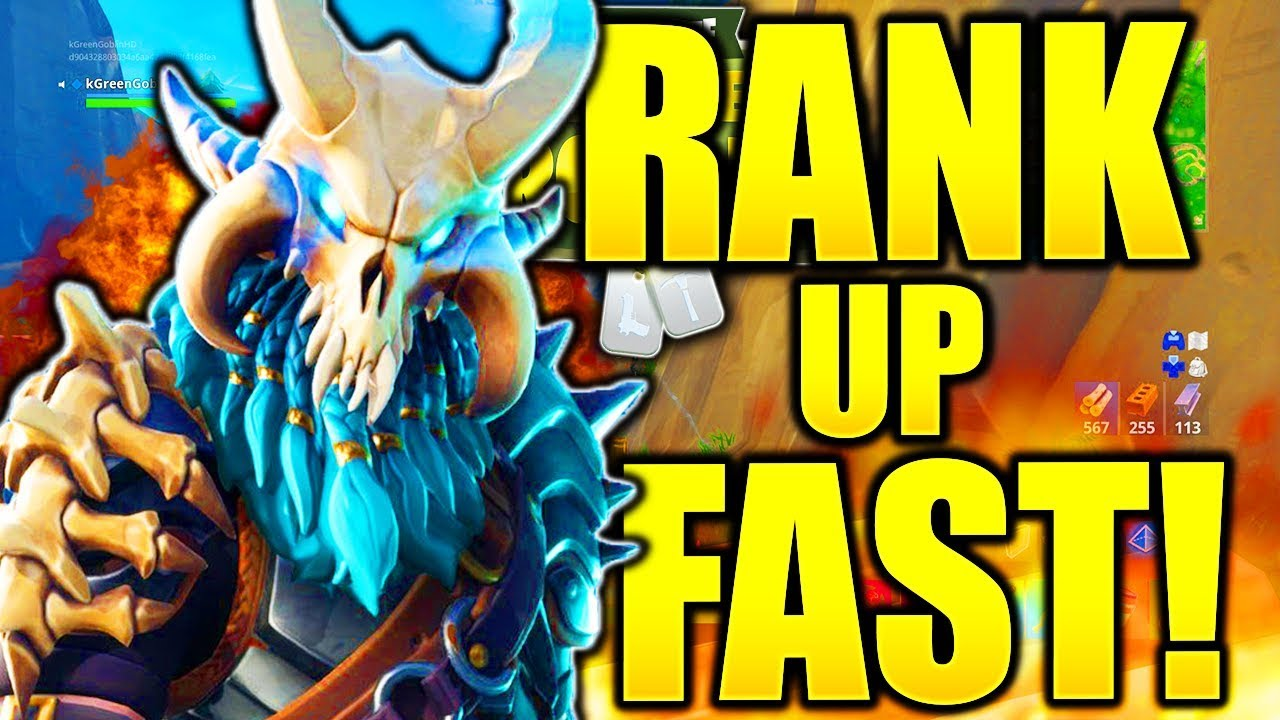 How To Rank Up Fast In Fortnite How To Level Up Fast In Fortnite Season 5 Unlock Max Ragnarok Fast