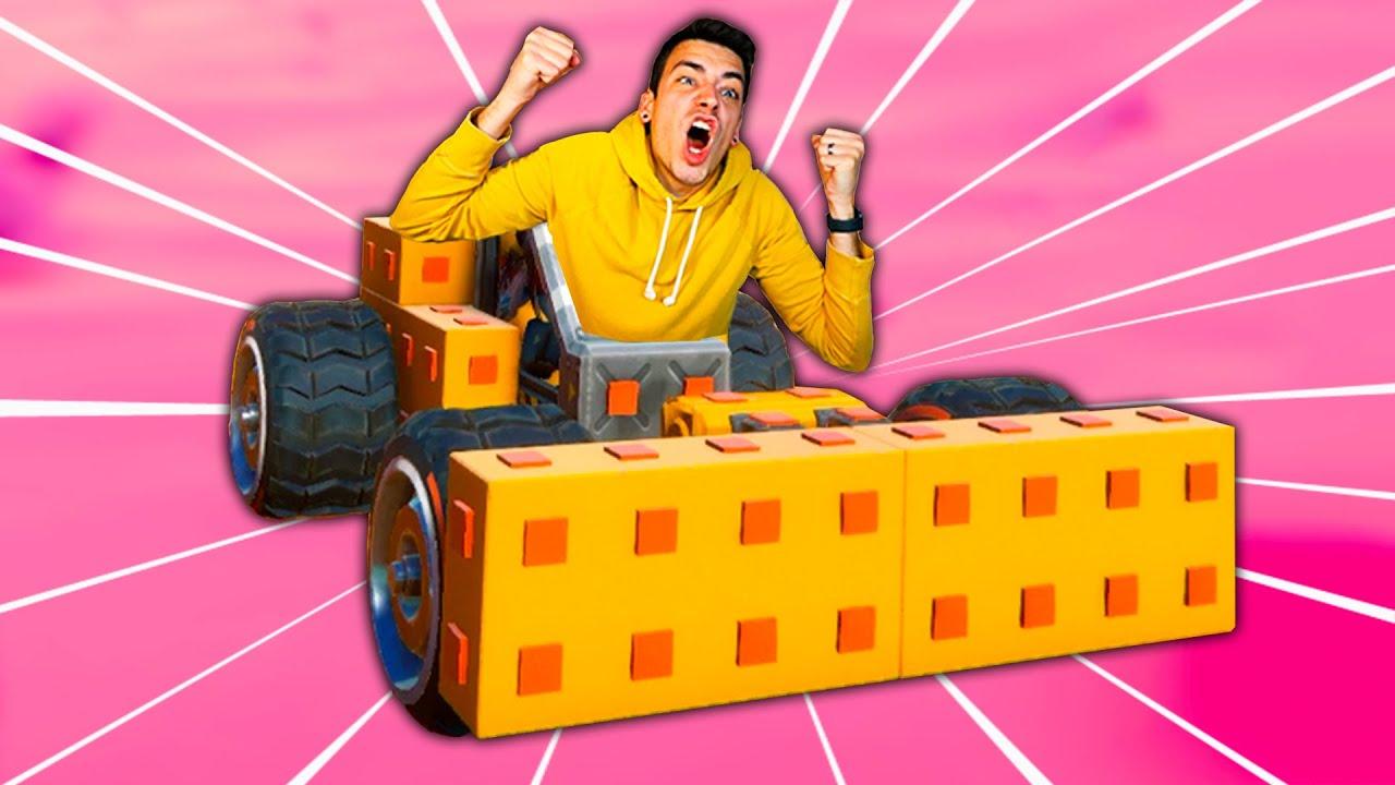I BUILT THE ULTIMATE BUMPER CAR! (Trailmakers)