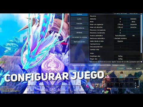 AION 6.2 | Configurando Los Controles Y Skills Templar  (Gameplay En Español)