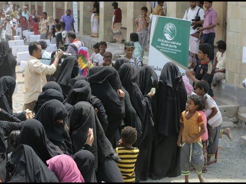 مركز الملك سلمان يدشن حملة مساعدات لأسر مديريتي الخوخة وحيس  - نشر قبل 3 ساعة