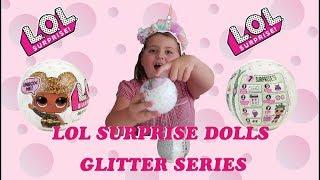 LOL SURPRISE DOLLS GLITTER SERIES ULTRA GLITTERY BIG SISTERS