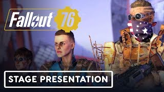 Fallout 76 Full Gameplay Reveal Presentation – E3 2019