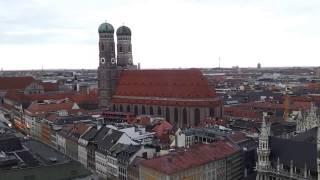 Munich Skylines: Great View over Munich - Super Sicht über München vom alten Peter in HD