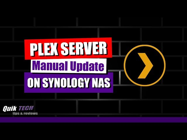 Synology Plex Server