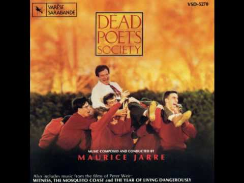"music dead poets society essay Read this music and movies essay and over 88,000 other research documents dead poet's society i was the perfect age for ""dead poet's society"" when it came out the film was originally released in 1989."