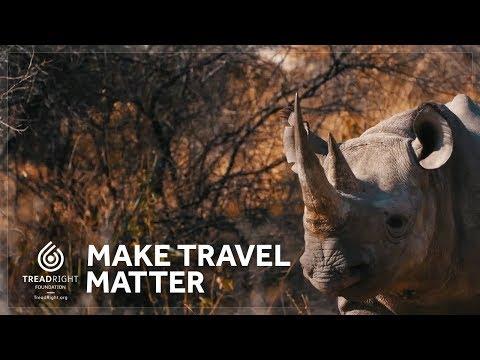 Make Travel Matter - TreadRight Foundation