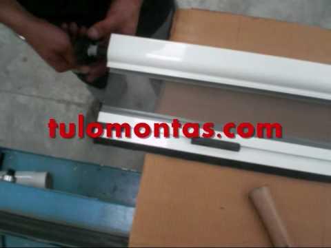 Tulomontas com fabricacion mosquitera enrollable - Mosquitera casera ...