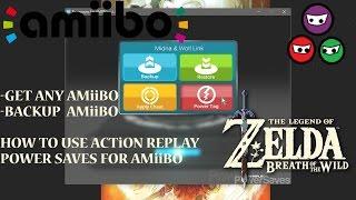 How to use Action Replay Power Save | Amiibo | Back up Amiibo | Download Amiibo | Fierce Deity Armor