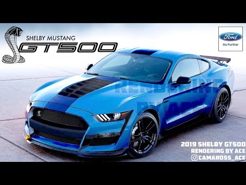 2019 Shelby GT500: OUT IN PUBLIC (New Photos & What We ... | Doovi